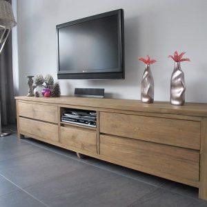 Strak Teak TV-meubel