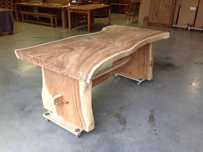 Tafel Laten Maken : Eettafel van meter laten maken met teakhout teakhout maatwerk