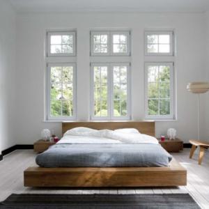 slaapkamer teakhout
